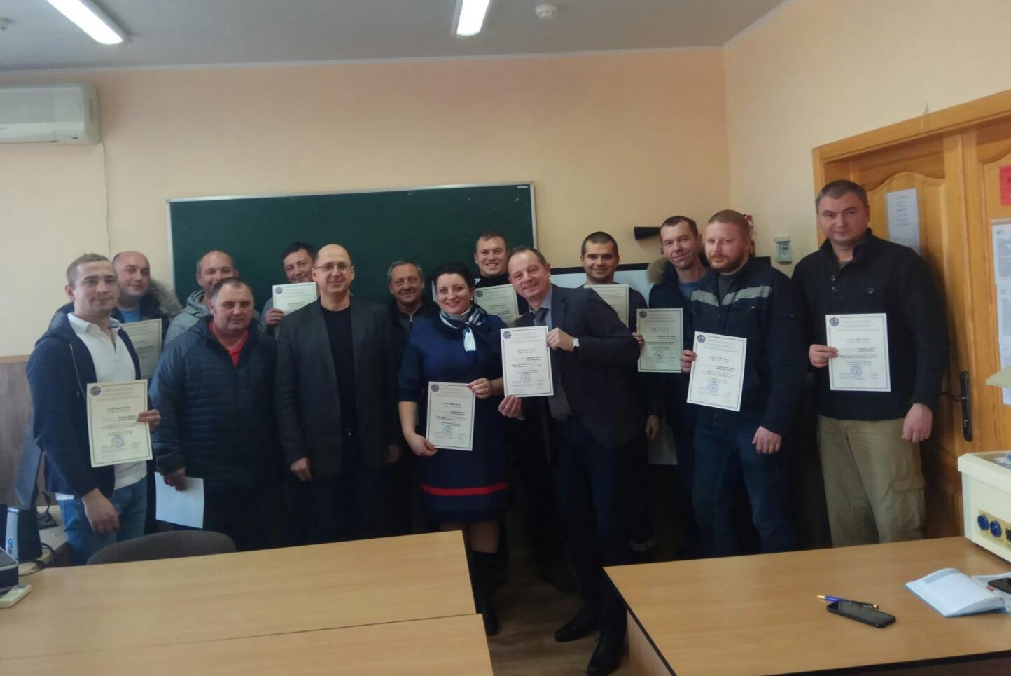 Навчання інженерно-технічного персоналу ДП «АНТОНОВ»