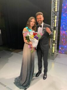 Нагорода на конкурсі Міс НАУ 2021
