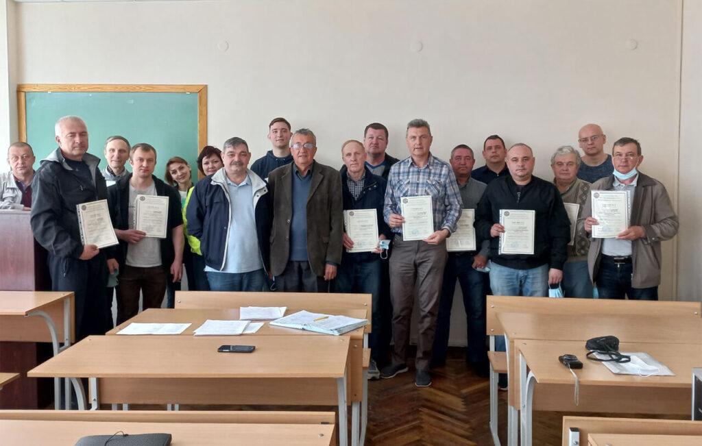 Advanced training of specialists of aviation enterprises of Ukraine
